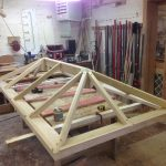 Timber Roof Lantern workshop Accoya Oak Hardwood