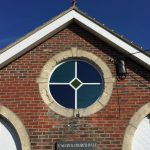 Round Accoya window Church Hall