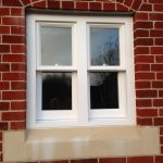 Timber sash window bespoke Medina Joinery Surrey